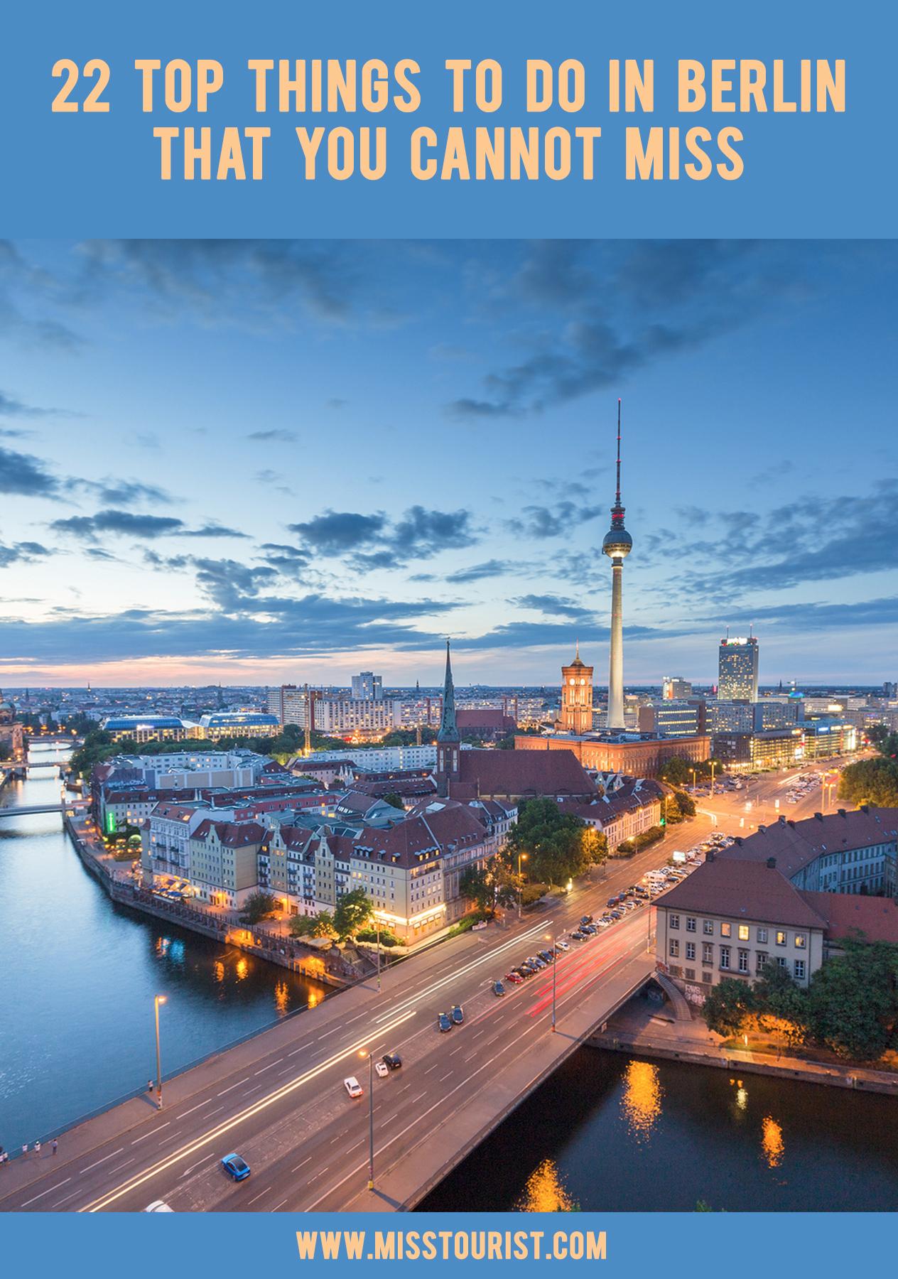 Top 6 Things To See In Berlin Germany Must