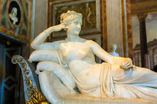 Galleria Borghese Tickets - Smart Ways to Avoid the Lines Pauline Bonaparte