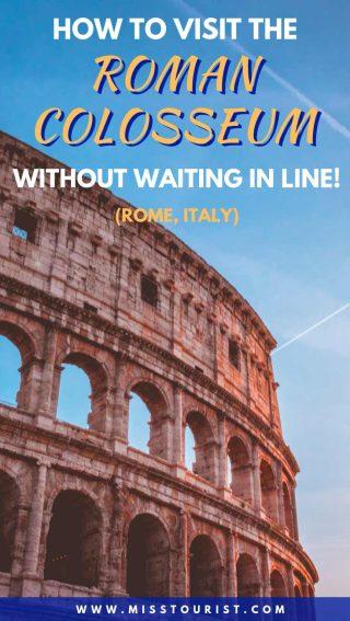colosseum rome fast track