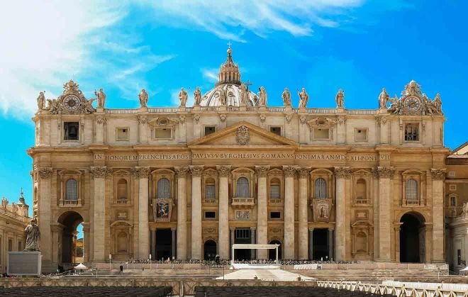 Saint Peter's Basilica in Rome, Italy How To Avoid The Lines St Peters Basilica Tickets 2
