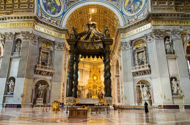 Saint Peter's Basilica in Rome, Italy How To Avoid The Lines St Peters Basilica Tickets 6