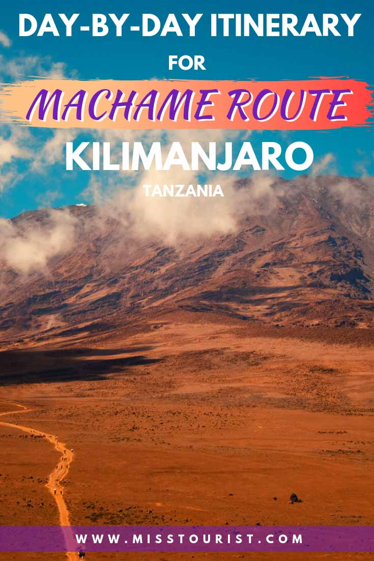An Ultimate Guide To Machame Route In Kilimanjaro day-by-day itinerary