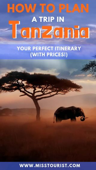 how to plan your itinerary for Tanzania