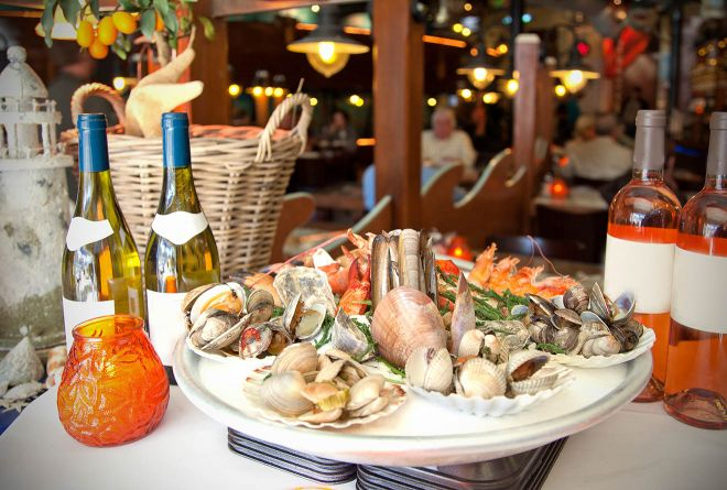 seafood restaurant rome