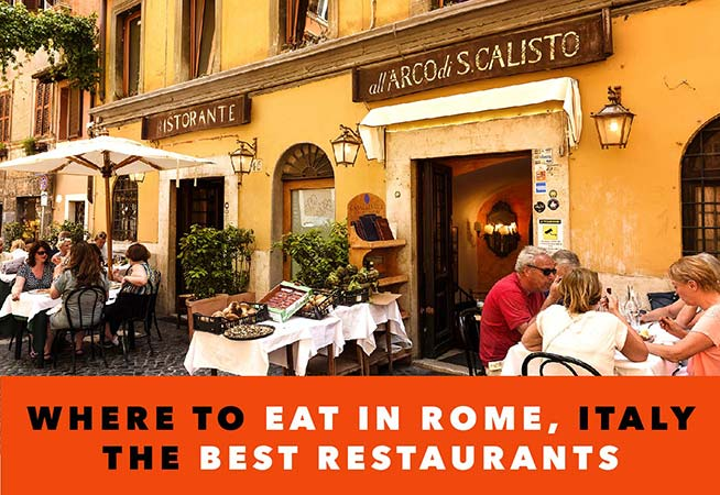 restaurants in rome italy