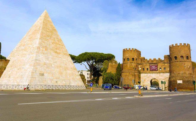 testaccio district in Rome
