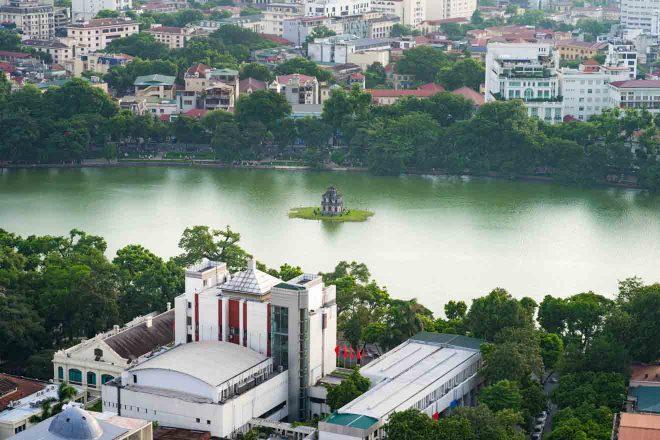 Chill at Hoan Kiem Lake