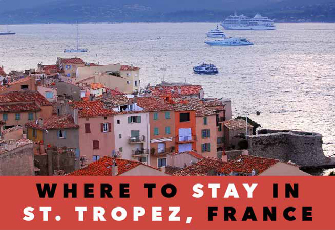 hotels in st tropez