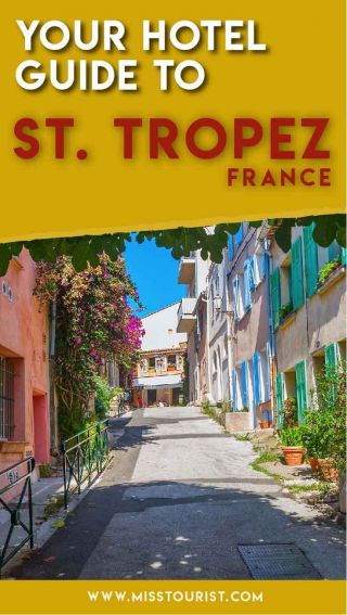 booking saint tropez