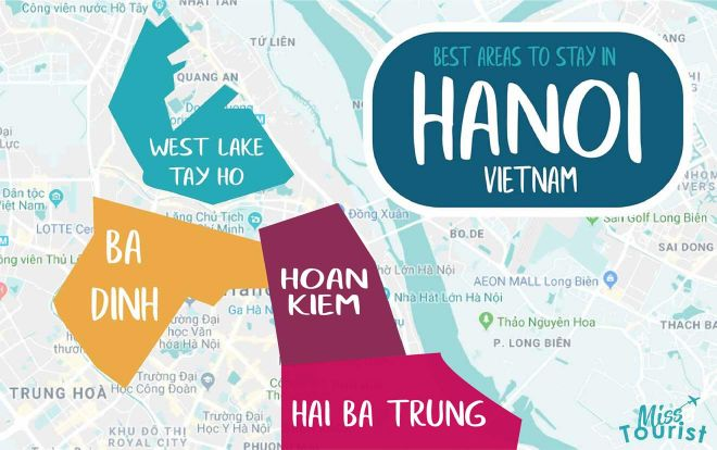 hanoi map areas