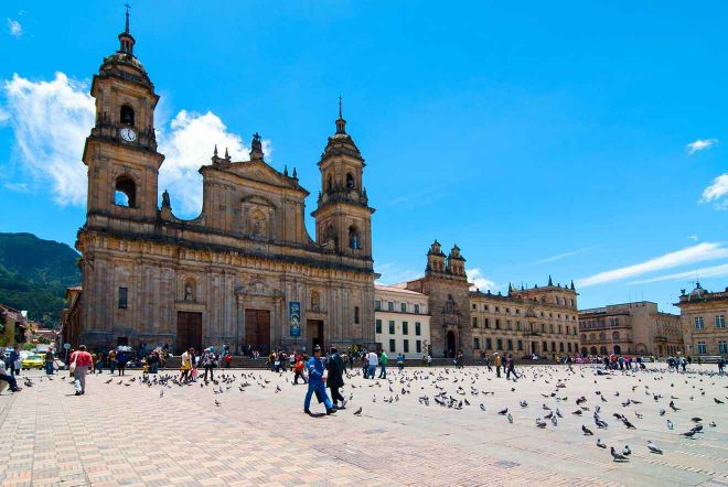 bogota city center