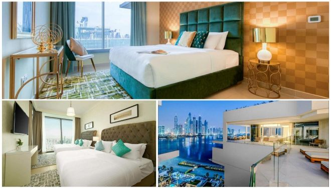 hotel rooms in dubai