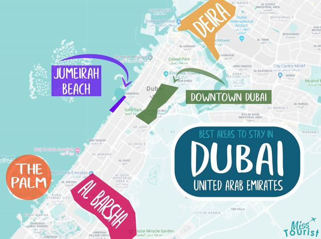 where is dubai located