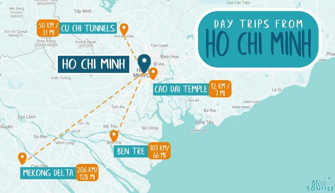 best day trips from ho chi minh