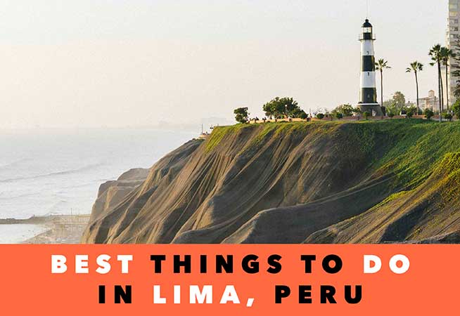 what to see in lima peru