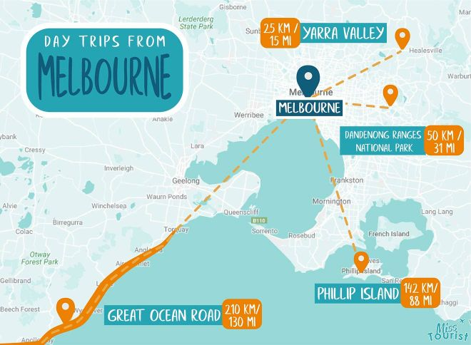 melbourne day trips