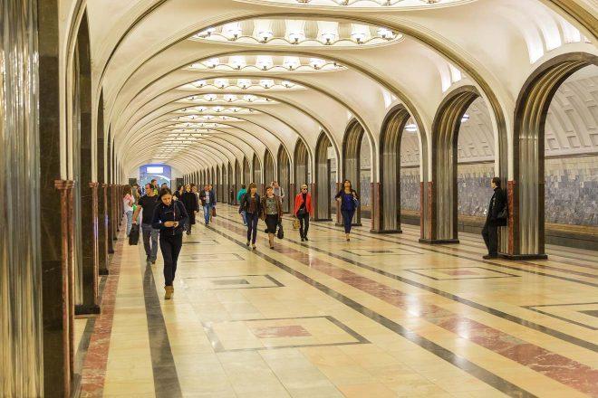 free moscow metro tour