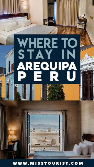 places to stay in arequipa