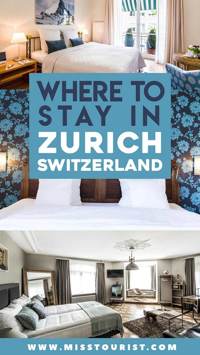 zurich city where to stay