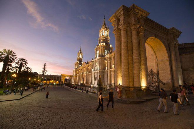 main square arequipa