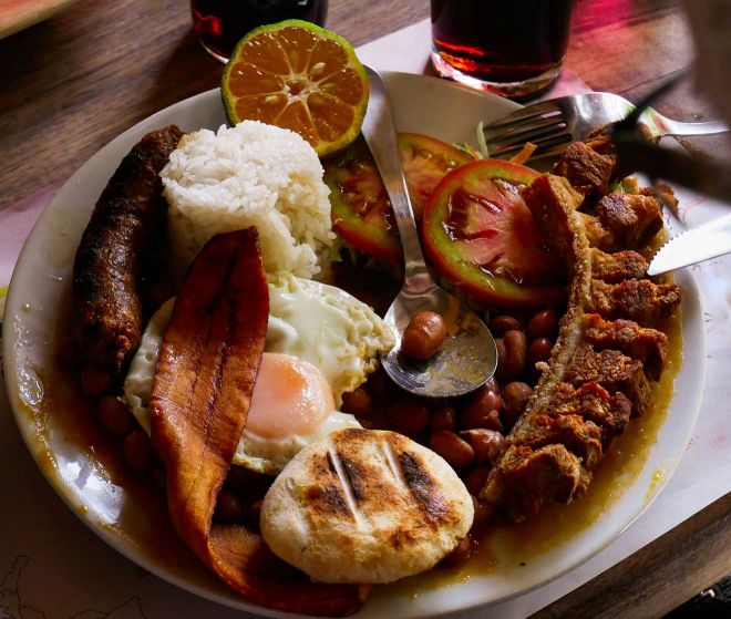 traditional food colombia