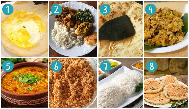 traditional sri lanka food