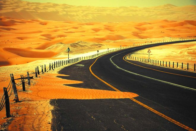 sand dunes dubai
