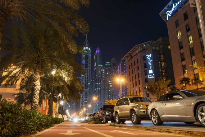 where to park in dubai