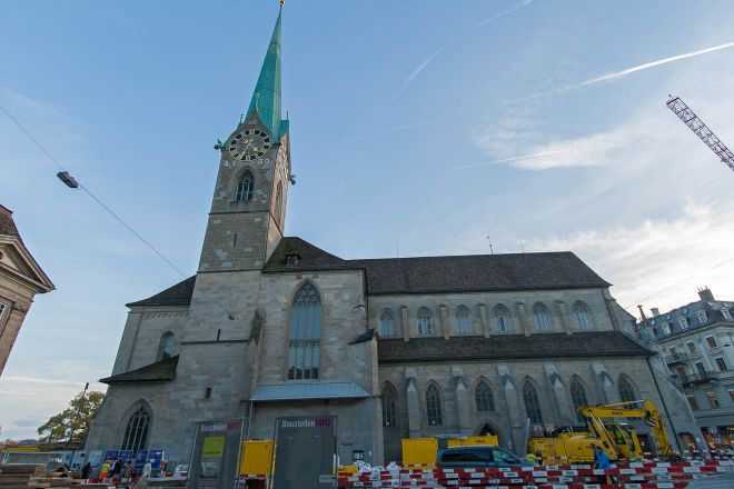 zurich switzerland church