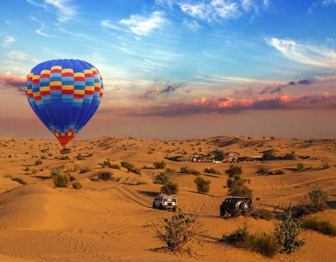 dubai view ballon