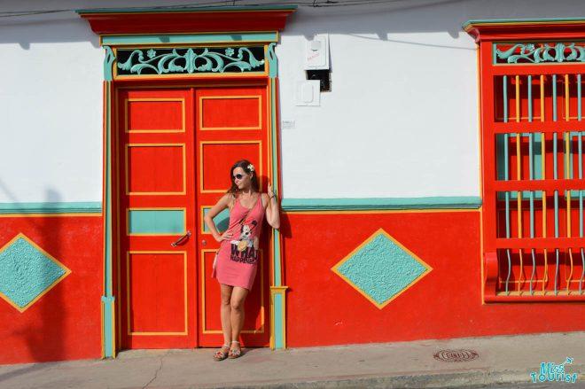 woman medellin house