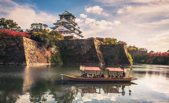 osaka japan water