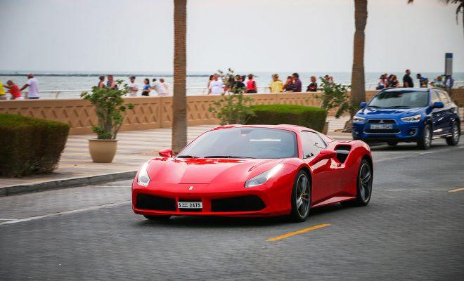 luxury sportscar ferrari