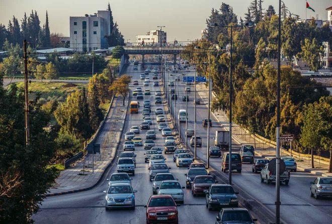 jordan crowded traffic