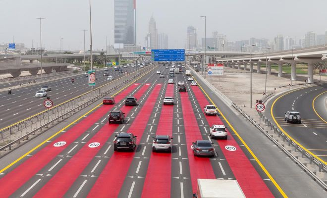 uae higshpeed lane