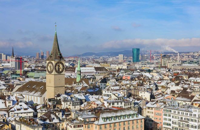zurich city sightseeing