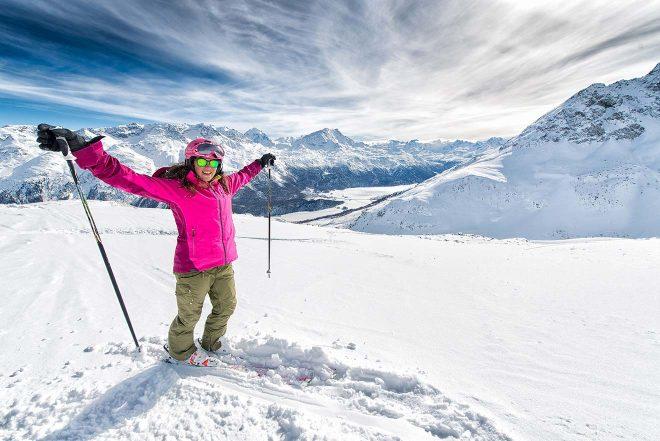 best skiing in switzerland