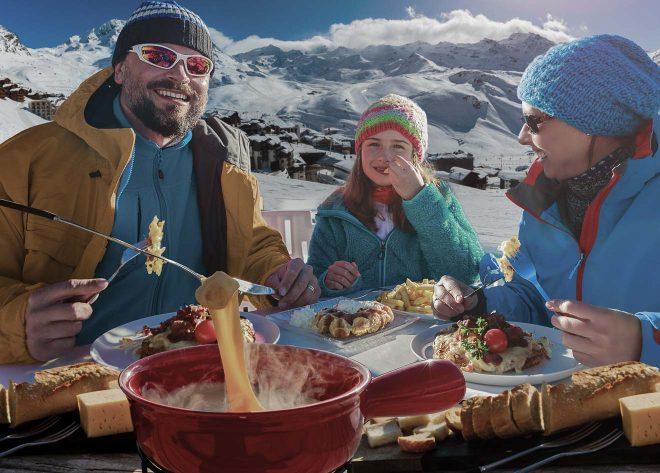 ski break family
