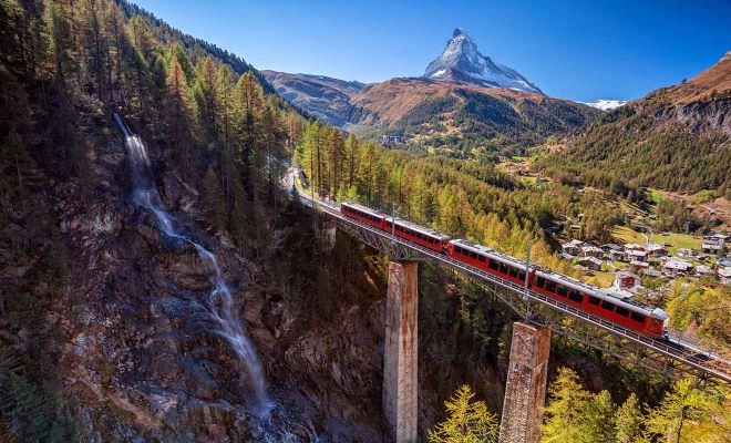 tourist train switzerland