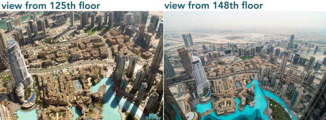 different floors burj khalifa
