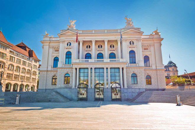 zurich view of opera