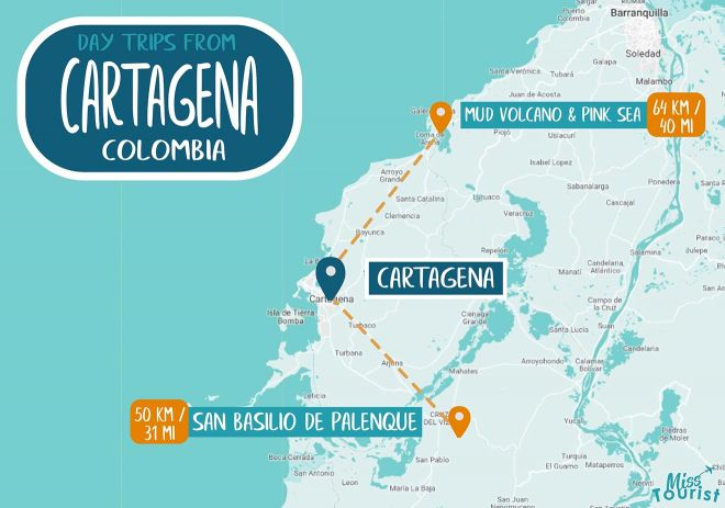 cartagena places
