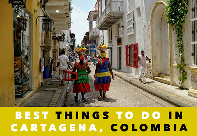 visiting cartagena
