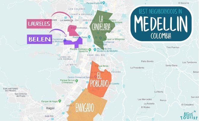 medellin areas