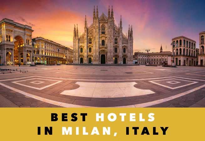 best hotels in milan