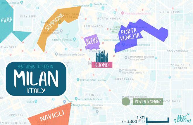 milan areas