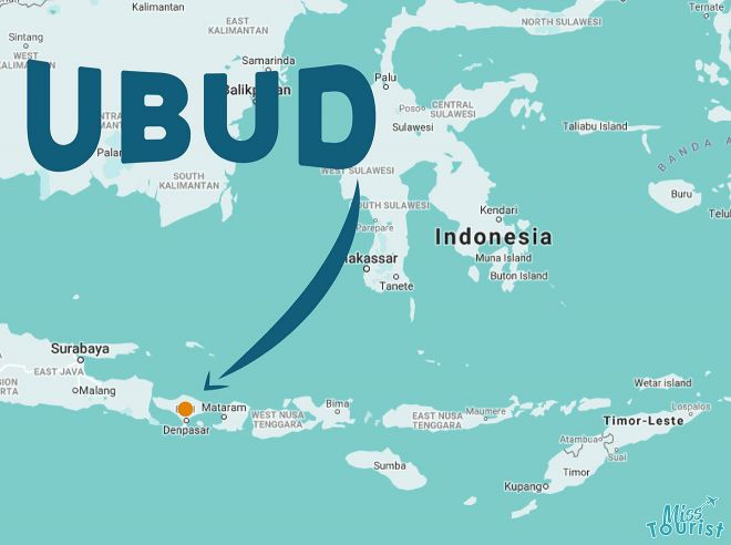 where is ubud