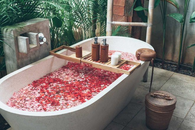 rekaxing bath