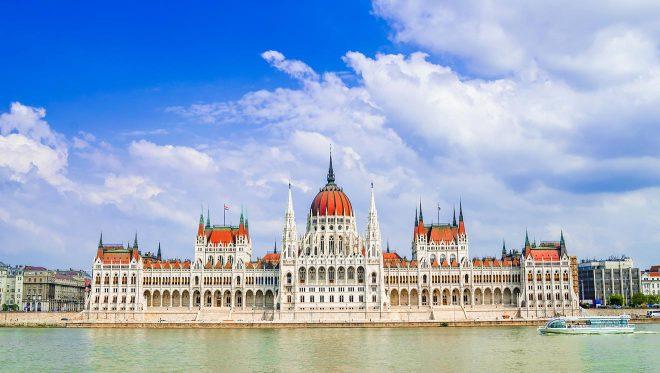 bâtiment de budapest