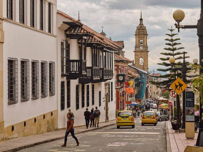 bogota street